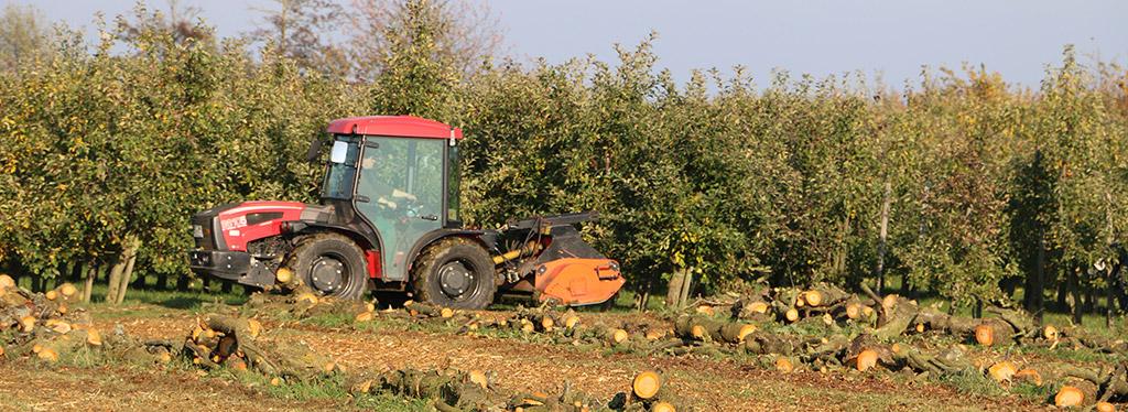 Letvægts-traktorer på tung jord
